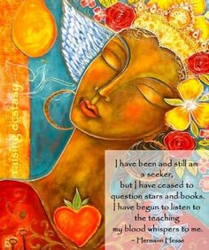 I have been and still am a seeker....