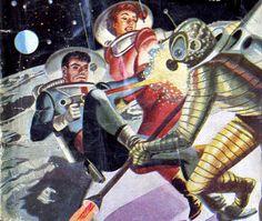 """Luchadores del espacio"", gran serie de novelillas de 1950, escritas por Pascual Enguídanos bajo el seudónimo de George H. White"