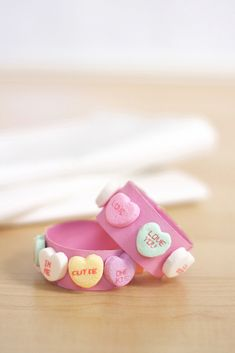 valentine day crafts, ring craft, napkin rings, kid, heart napkin