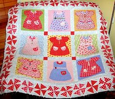 Darcy's Dress up Quilt