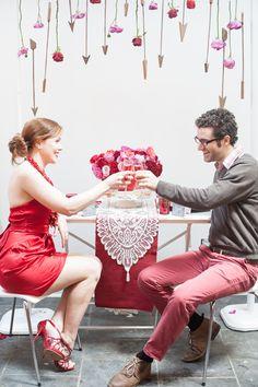 Valentine's Day inspiration, photo by Obscura Photoworks http://ruffledblog.com/cupids-arrow-valentines-day-inspiration #valentinesday #weddingideas