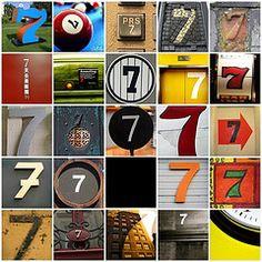 Number 7 by ArtByChrysti