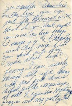 Marilyn Monroe's Notes