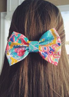 Colorful bows are in for spring!