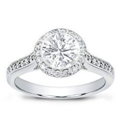 Pretty Engagement Ring #ring