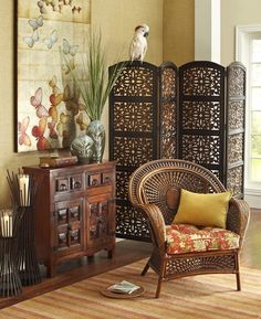 Intricate designs and carvings can transform any room