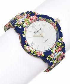 bracelet watch, rose flower, flower bracelet, navi rose