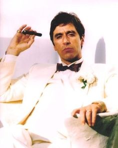 Al Pacino, Scarface (1983) Wooow I really loved him in Scarface