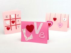 Valentine cards. So cute!