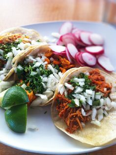 Chicken Tacos at Los Ocampo. (Iphone photo)