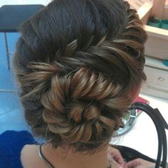 Called the conch shell braid, cuttee!