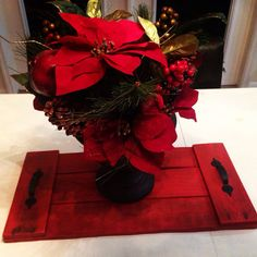 Pallet Tray Red