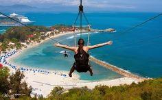 Labadee , Haiti    cruise stop