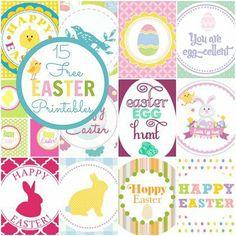 15 Best Free Easter Printables #easter #freeprintables