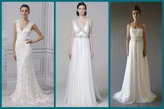 Vestido de Noiva Tubinho: Modelos de Monique Lhuillier, Marquesa e Cocoe Voci