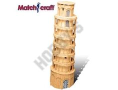This Matchcraft Tower of Pisa includes everything needed to make this matchstick model kit.  Included are all the pre-cut card formers along with the glue, matchticks and full instructions. These instructions will guide you through each stage of the construction until you finally achieve the finished product.  We would highly recommend this Matchcraft Tower of Pisa.