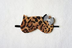 Glamorous Cat-Inspired Sleep Accessories by Naomilingerie