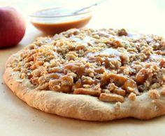 Caramel Apple Dessert Pizza Recipe - RecipeChart.com
