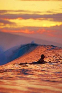 #sunset#surfing