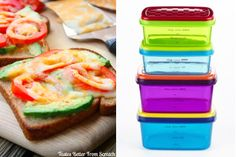 Super toast and sammy containers- 9 Healthy Lunch Trends for Kids, From Paleo to Pocket Pasta - ParentMap
