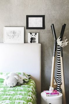 Concrete for a kid's space