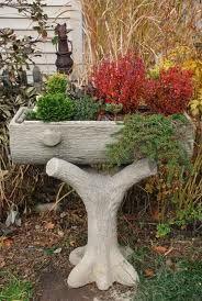 faux bois planter