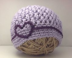 CROCHET PATTERN Embroider Me Beanie