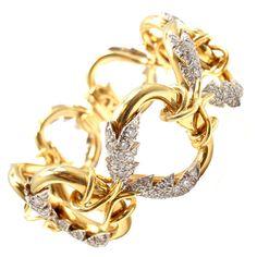 TIFFANY & CO. Jean Schlumberger Diamond Bracelet