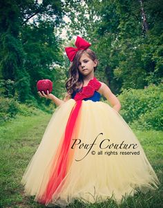 Snow White by PoufCouture on Etsy, $104.95