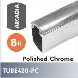 Arcadia Closet Rod, 8ft, Polished Chrome $45.00