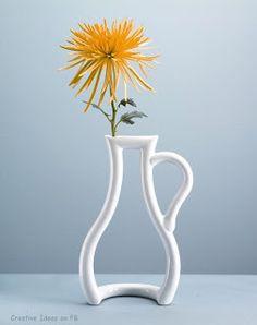 porcelain, art, morning coffee, flower vases, gods will, flowers, design, outlin vase, thing