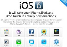 Apple ios 6 lunching soon....fetures are following.....