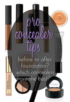 Concealer Tips: #Makeup Artists Share Their Favorites