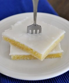 White Texas Sheet Cake @L. Simms Furuya {Mel's Kitchen Cafe}