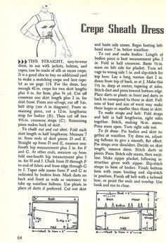 DIY Vintage 1950s Dress - FREE Sewing Draft Pattern and Tutorial