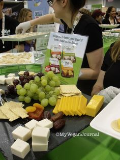 "@daiyafoods Vegan Cheese ""Blocks"" with NO palm oil! Hurray! From #MyVeganJournal's Top 10 Vegan Moments at Natural Products Expo West 2014!"