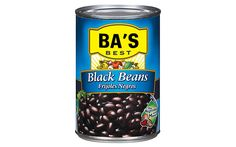 12 Things To Do with a Can of Black Beans: #9. Chicken Salsa Soup  Heat through a jar of salsa emptied into a sauce pan, then add rinsed and drained black beans and shredded rotisserie chicken. Add enough water to cover the beans and chicken to thin the soup as desired; season with fresh lime juice. Once the soup is heated through, serve topped with tortilla chips, avocado slices, and sour cream.