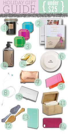 Holiday Gift Guide - Under $25