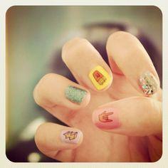 Too cute. Nail art,
