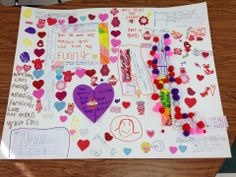 Learning to Teach in the Rain: Feeling the Love... Valentine Compliment Posters classroom idea, classroom manag, camp star, valentine day gifts, teach idea, 4th grade