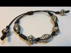 ▶ Tutorial: Pulsera de nudos. Bracelet knots. - YouTube