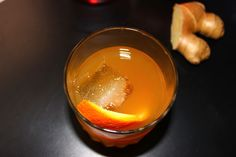 New-Fashioned Ginger Cocktail Recipe