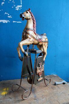 vintage horse