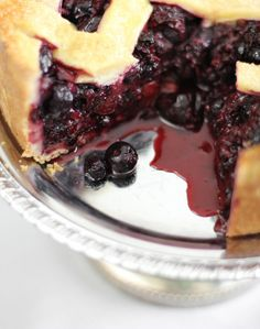 Deep Dish Berry Pie Tart - from Sprinkle Bakes