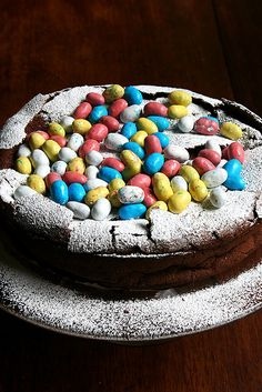 Nigella Lawson's Easter Egg Nest Cake