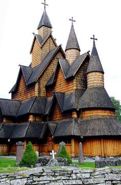 Heddal Stavkirke - Year 1250, Norway