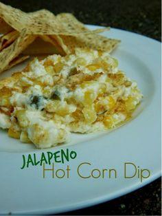 Jalapeno Hot Corn Dip