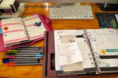 An example of how to sync your planners, when using more than one at a time
