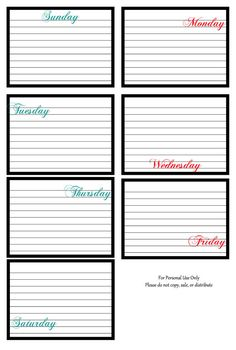 Journal Cards #projectlife #journaling