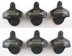 Groomsmen Gift - Custom Engraved Bottle Opener with your name, Monogram, etc - with capcatcher. $20.00, via Etsy.